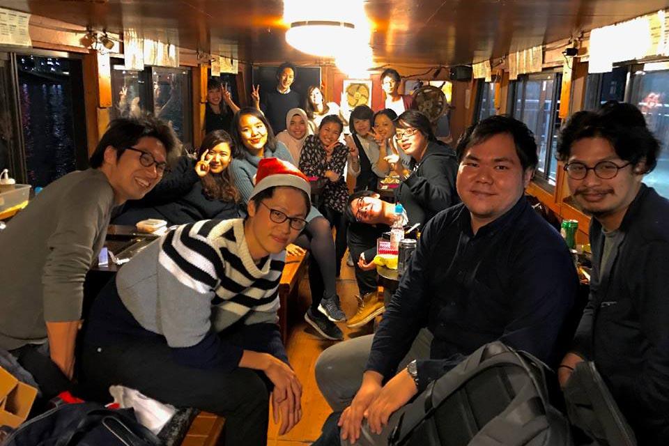 Pengalaman Hidup di Jepang - Kehadiran teman membuat pengalaman lebih menyenangkan