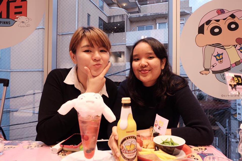 Pengalaman Hidup di Jepang - Sahabat cantik