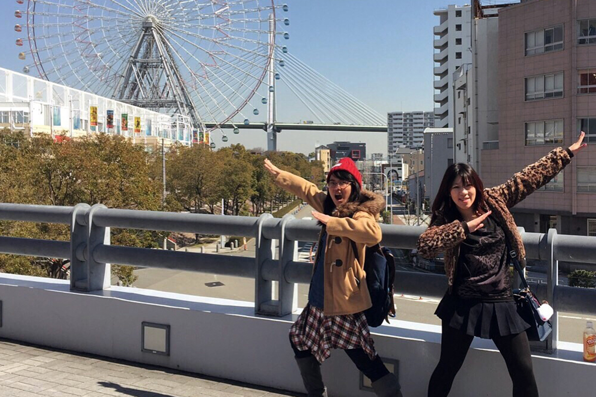 Pengalaman Sekolah di Jepang Gloria Cindy
