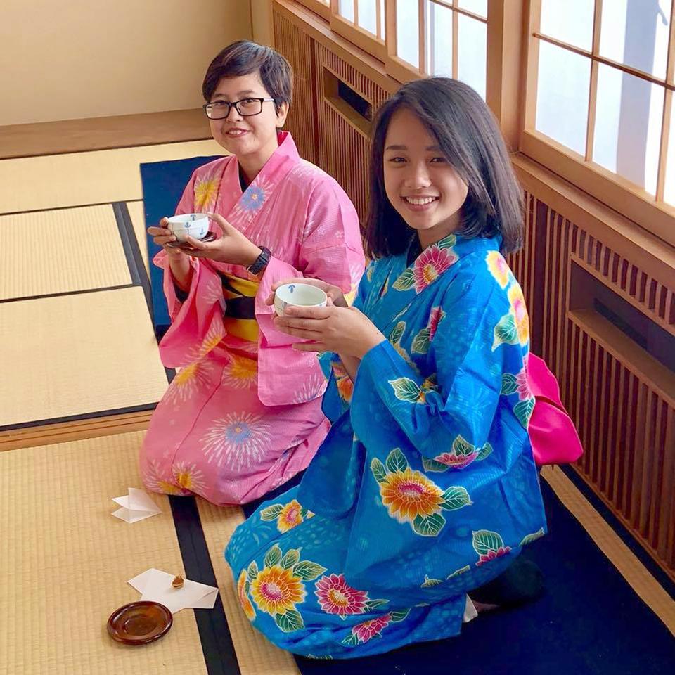 Belajar di Ueda, Jepang Nanda